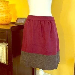 Wool Blend J.Crew Skirt Size 14 Fully lined